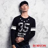 BOBSON 男款數字印圖上衣(合身版)  (35010-88)