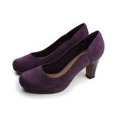 Clarks Chorus Nights 高跟鞋 紫色 女鞋 no710