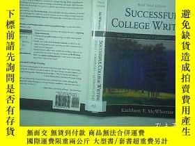 二手書博民逛書店SUCCESSFUL罕見COLLEGE WRITING 02Y2