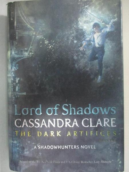 【書寶二手書T1/一般小說_E4G】Lord of Shadows_Clare, Cassandra
