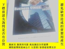 二手書博民逛書店Business罕見Ethics NOW:GHILLYERY13