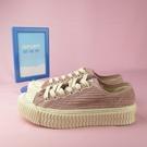 【iSport愛運動】EXCELSIOR 正韓代購 低筒 麂皮 餅乾鞋 正品 DFM6017CDPK 粉 女款 燈芯絨