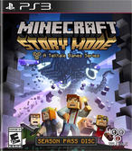 PS3 Minecraft: Story Mode - Season Disc 我的世界:劇情模式(美版代購)