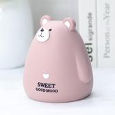 萌兔萌熊存錢筒大容量兒童防摔儲蓄罐可愛【聚寶屋】