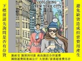 二手書博民逛書店Coloring罕見New York CityY405706 Anna Nadler 出版2020