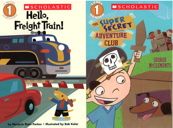 【學習讀本超值組】SCHOLASTIC LEVELED READERS LEVEL 1 COLLECTION(10書+1CD)