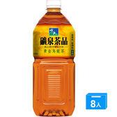 悅氏黃金烏龍茶(無糖)2000ml*8入/箱【愛買】