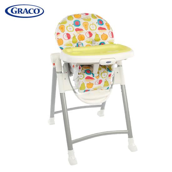 GRACO Contempo 可調式高低餐椅-水果王國