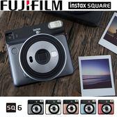 新品上市 富士 FUJIFILM instax square SQ6 復古拍立得 方形相紙 公司貨-送底片保護套20入