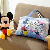 兒童睡袋  冬夏鋪棉兩用 迪士尼授權-甜蜜米奇藍