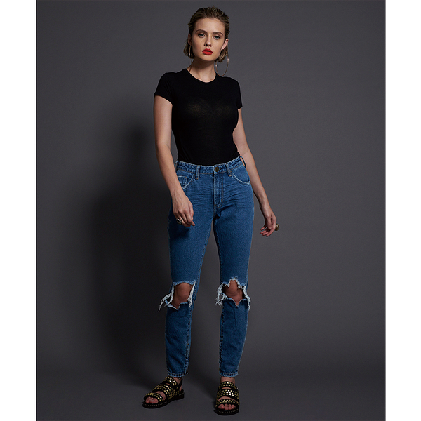 ONETEASPOON TEXAN BLUE FREEBIRDS HIGH WAIST SKINNY JEAN  牛仔褲-(女)