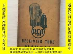 二手書博民逛書店《RECEIVING罕見TUBE》MANUAL《《接收管》手冊》Y345201 出版1939