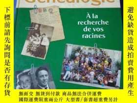 二手書博民逛書店LAROUSSE罕見de la GenealogieY23450
