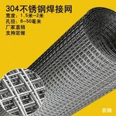 1.5米-2.1米寬不銹鋼焊接網304鋼絲網片網格方孔鐵絲網防護網 生活樂事館NMS