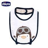 chicco-飛行企鵝系列-造型圍兜-卡其