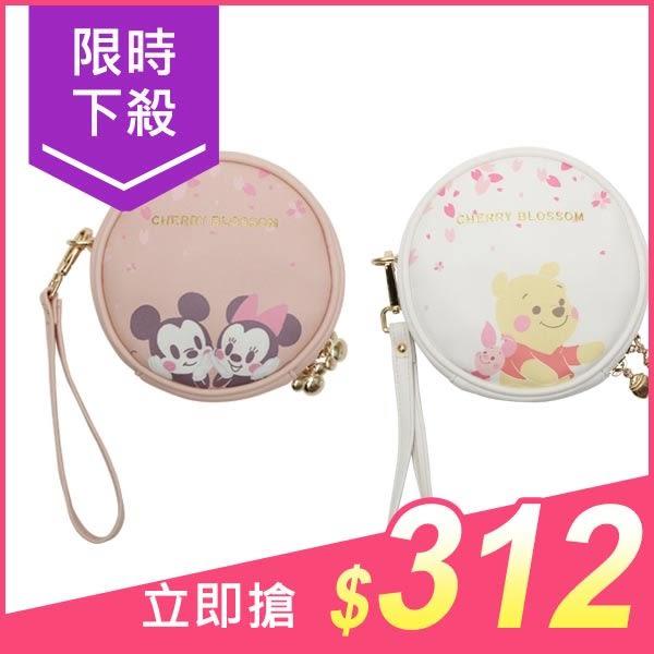 Disney 迪士尼櫻花系列化妝包(1入) 小熊維尼/米奇米妮 款式可選【小三美日】原價$390