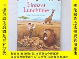 二手書博民逛書店Lions罕見At Lunchtime(英文原版)Y11016 Mary Pope Osborne, Sal