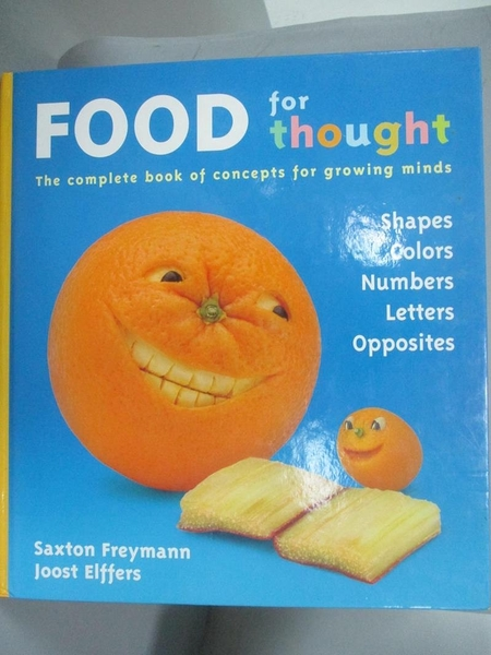 【書寶二手書T2/少年童書_QJM】Food For Thought_Freymann, Saxton/ Elffers