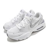 Nike 休閒鞋 Wmns Air Max Fusion 白 銀 氣墊 小白鞋 女鞋 運動鞋 【ACS】 CJ1671-105