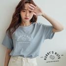 MIUSTAR 正韓-NUTS腰果膠印棉質上衣共2色)【NJ1510LG】預購