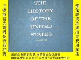二手書博民逛書店F65罕見THE HISTORY OF THE UNITED S