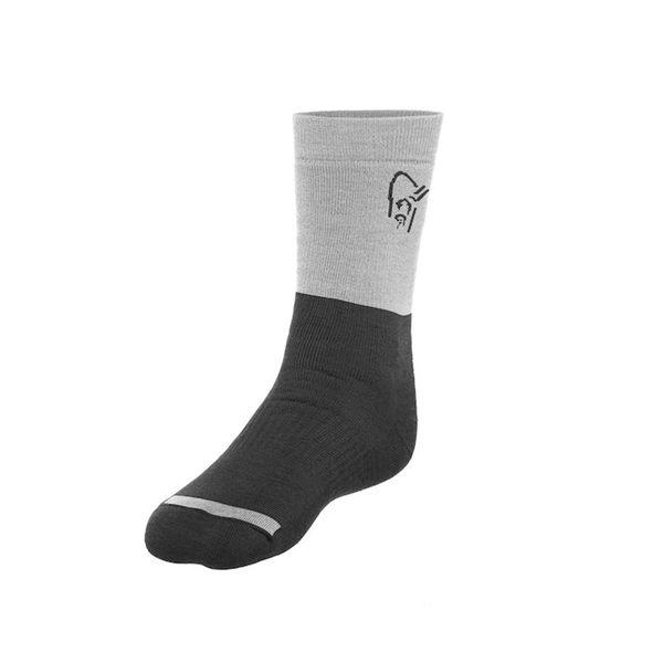 Norrona 老人頭 trollveggen Heavy Weight Merino Socks 美麗諾羊毛保暖襪 加厚 高貴黑
