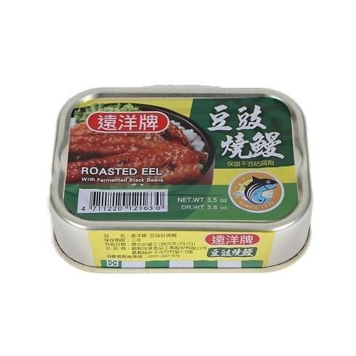 遠洋牌豆豉燒鰻 100g x3罐【愛買】