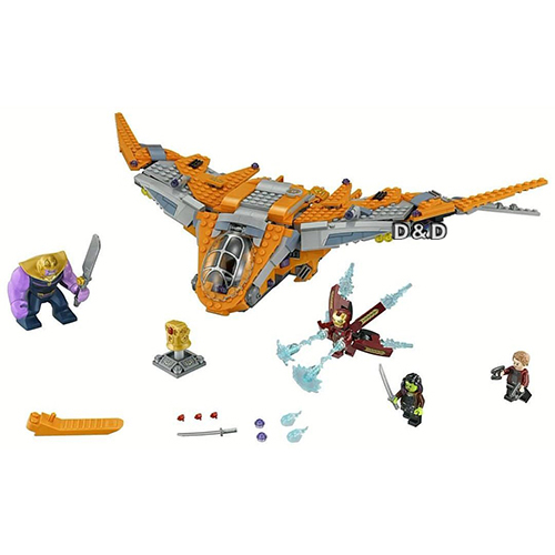 樂高積木 LEGO《 LT76107 》SUPER HEROES 超級英雄系列 -Thanos: Ultimate Battle ╭★ JOYBUS玩具百貨