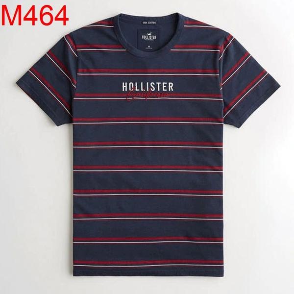 HCO Hollister Co. 男 當季最新現貨 短袖T恤 Hco M464