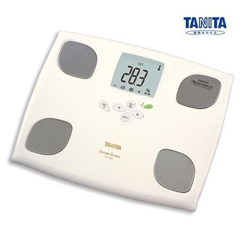 BC-750+贈送TANITA計步器PD641(隨機色)塔尼達TANITA體脂肪計體脂計BC750-棉花白◆醫妝世家◆