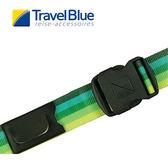 英國Travel Blue藍旅 2吋旅行束帶 漸層綠色 TB040B 露營│登山│戶外│旅遊│出國│行李束帶