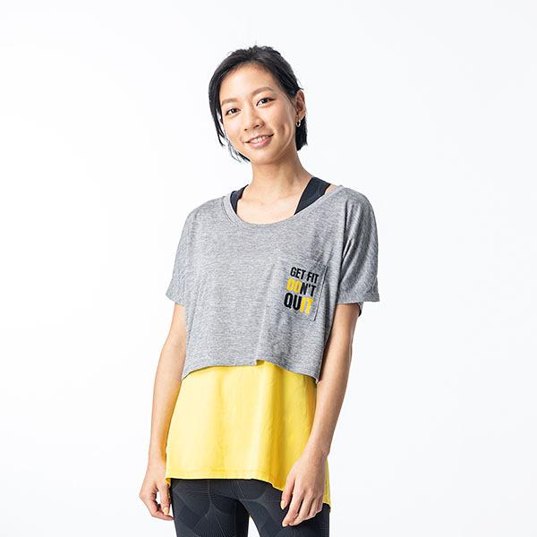 兩件式罩衫TA201226- 百貨專櫃品牌 TOUCH AERO 瑜珈服有氧服韻律服