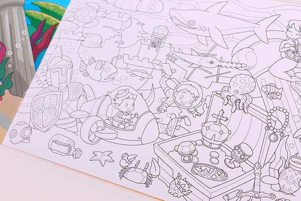 聰明玩塗鴉貼:探險樂園 (全6冊) 球球館 (購潮8)