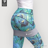 彈力帶健身女阻力帶練蜜桃虐臀腿部訓練臀部健身器翹臀神器彈力圈『新佰數位屋』