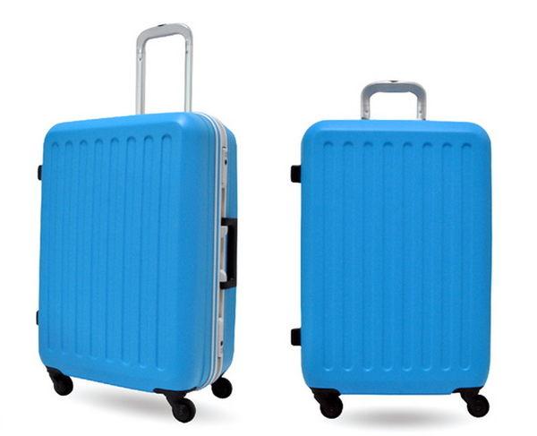 CROWN皇冠 彩漾輕量鋁框行李箱/旅行箱-27吋-海軍藍色(5.5折)