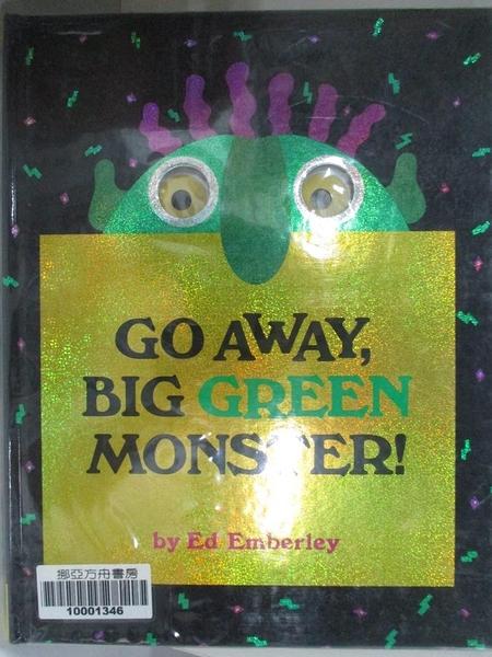 【書寶二手書T6/少年童書_J22】Go away, big green monster!_Emberley, Ed