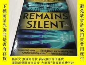 二手書博民逛書店REMAINS罕見SILENTY218789 出版1990