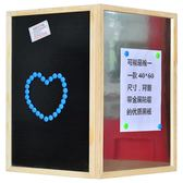 黑板 掛式磁性小黑板創意店鋪展示廣告牌兒童教學家用留言涂鴉黑板墻JD 聖誕歡樂購免運