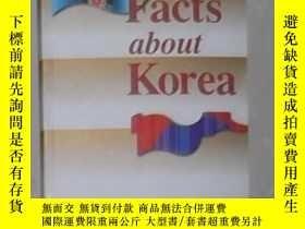 二手書博民逛書店英文原版罕見Facts About KoreaY14063