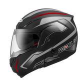 ZEUS瑞獅安全帽,ZS3300,GG19/消光黑銀