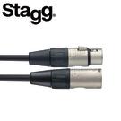 【敦煌樂器】STAGG NMC1R(C對C)1M麥克風線