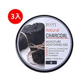 JIGOTT 保濕凝膠 #竹炭淨化 CHARCOAL 300ml *3入
