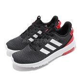 【六折特賣】adidas 慢跑鞋 CF Racer TR 黑 白 紅 男鞋 運動 休閒 基本款 運動鞋 【ACS】 B43638