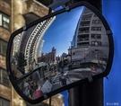 廣角鏡 40*60厘米四輪定位上車鏡定位儀道路室外交通轉角鏡方形帶配件【快速出貨】