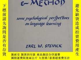 二手書博民逛書店MEMORY罕見MEANING AND METHOD BY EARL W. STEVICK 21.5X14CM