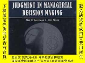二手書博民逛書店Judgment罕見In Managerial Decision MakingY255562 Max H. B