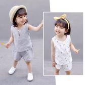 女寶寶衣服 夏季 嬰兒童短袖套裝 潮