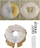::沙貨大批發::指壓油壓床按摩美容趴枕不織布十字洞巾(圓形)-100入X10包[53988]