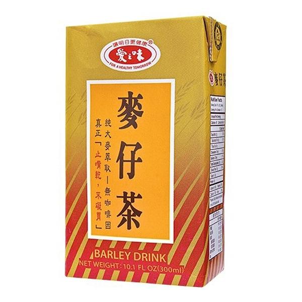 【免運直送】愛之味麥仔茶300ml(24瓶/箱)X1箱【合迷雅好物超級商城】-01