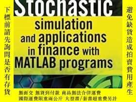 二手書博民逛書店Stochastic罕見Simulation And Applications In Finance With M